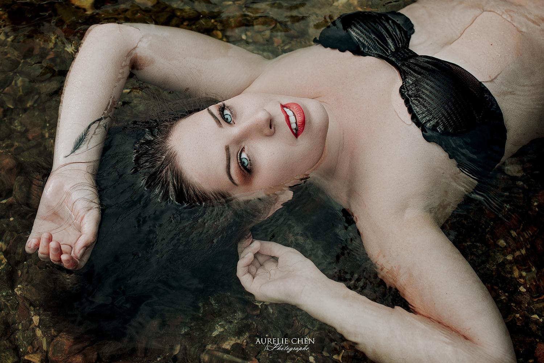 Portrait | Aurelie Chen photographe  |  Photos dans l'eau