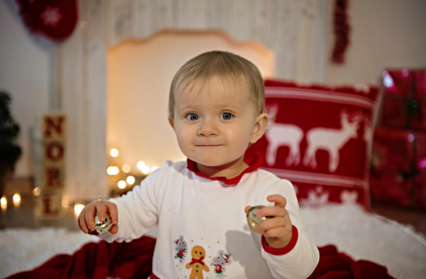 Mini Séance de Noël de Lena