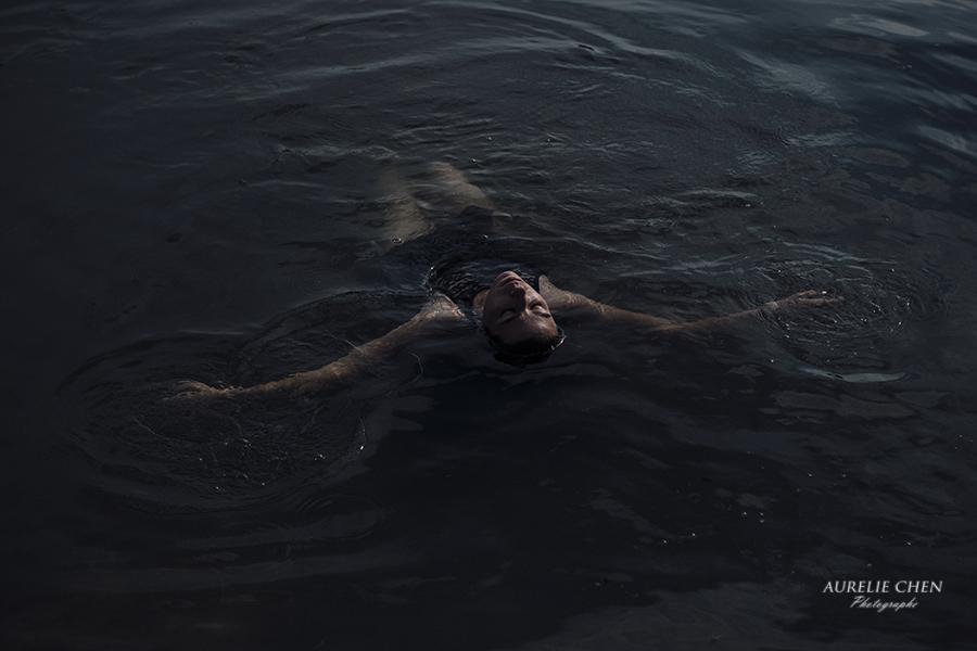 Portrait | Autoportrait | Photos dans l'eau | Lac | Seine & Marne | Aurelie Chen Photographe