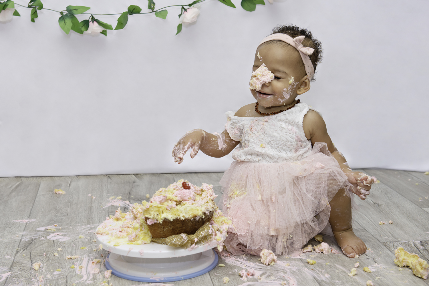 smash the cake photo des un an anniversaire aurelie chen photographe sud seine et marne